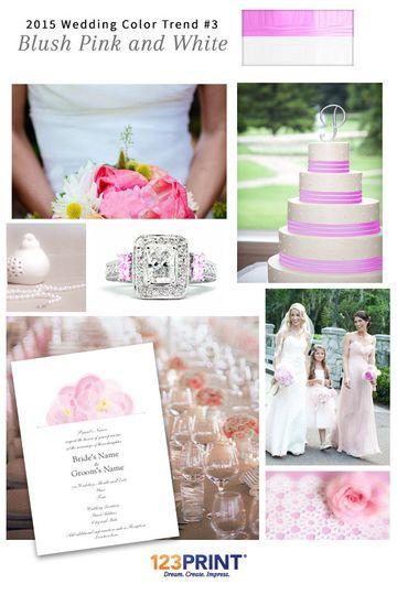 123print blush pink and white wedding