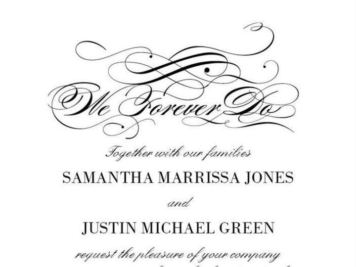 Tmx 1350492233746 ForeverFlourish Dallas wedding invitation