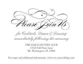 Tmx 1363789209076 123PrintWeddingReceptionCardsForeverFlourish Dallas wedding invitation