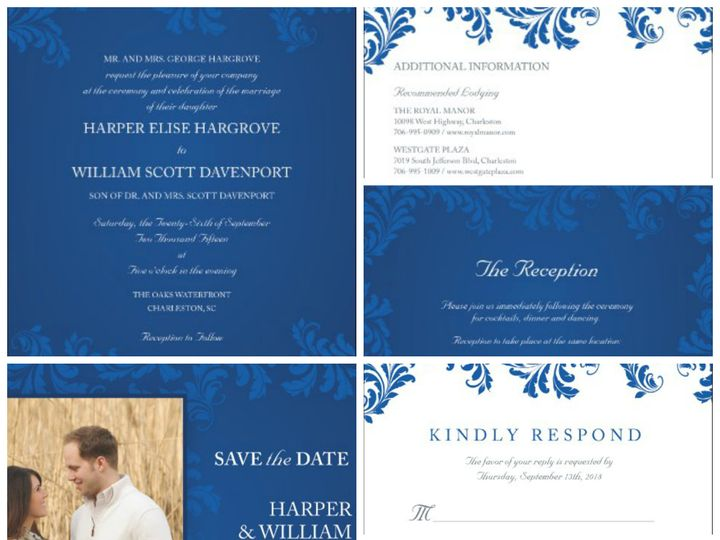 Tmx 1394484140101 Classic Wedding   Victorian Love Stor Dallas wedding invitation