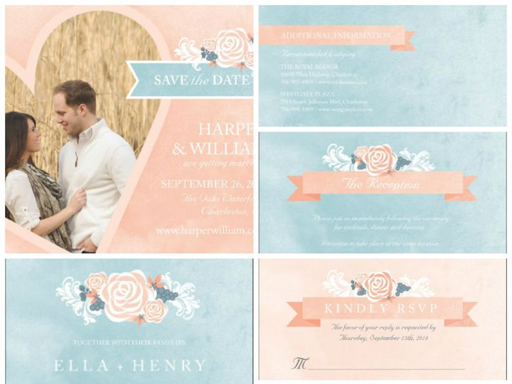 Tmx 1394484153458 Bohemian Wedding   Bohemian Bouque Dallas wedding invitation