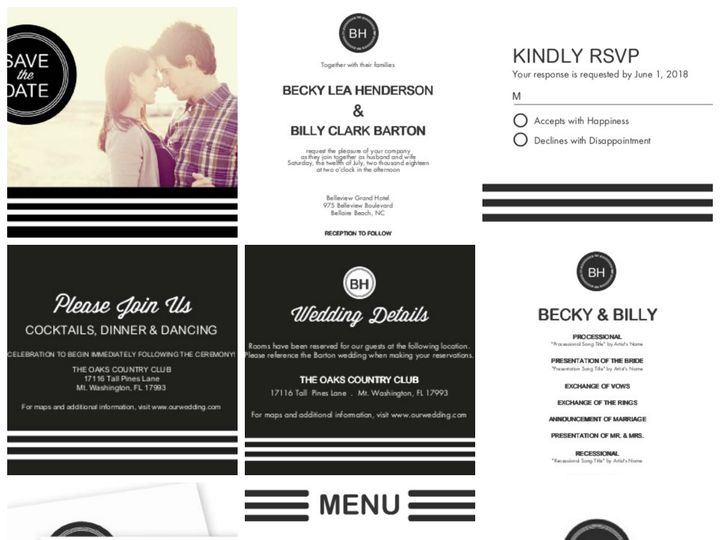 Tmx 1394484181442 Modern Wedding   Straight To The Alta Dallas wedding invitation