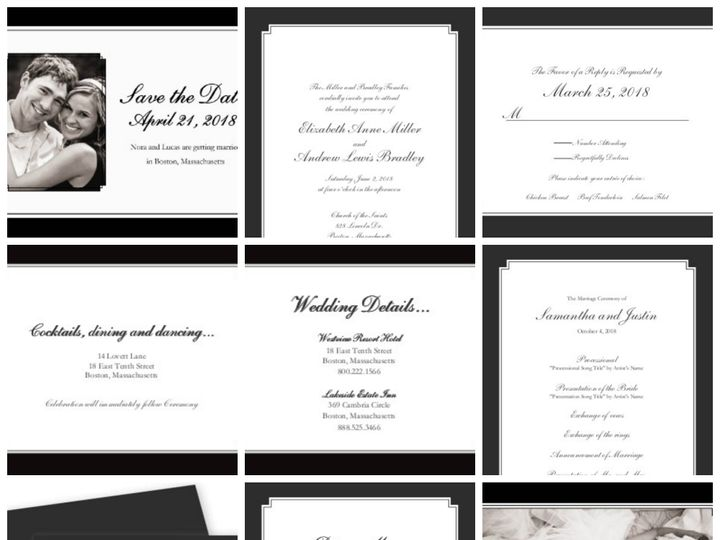Tmx 1394484208946 Classic Wedding   Timeless Eleganc Dallas wedding invitation