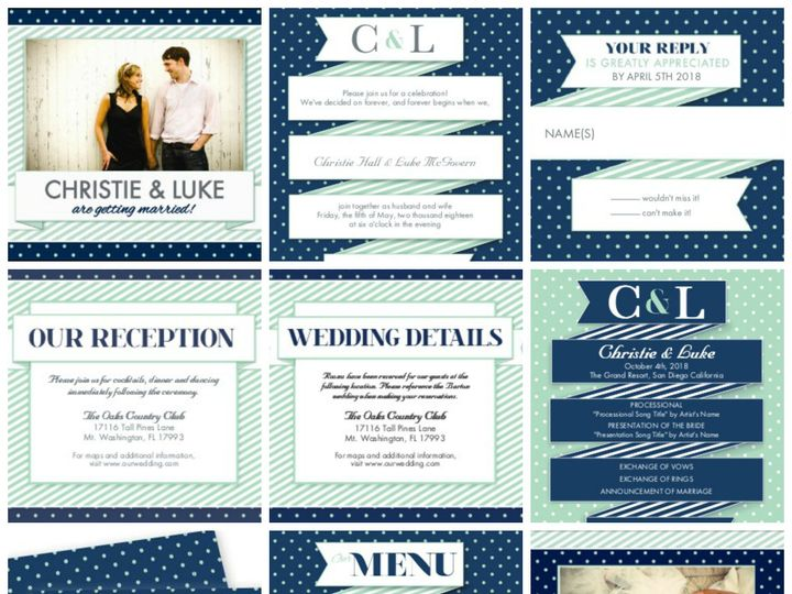 Tmx 1394484224619 Modern Wedding   Dotting Your I Do Dallas wedding invitation