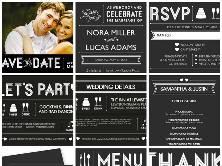 Tmx 1394484279561 Casual Wedding   Bride Groom Billboar Dallas wedding invitation