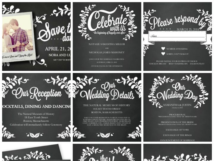 Tmx 1394484294558 Bohemian Wedding   Vine Of The Time Dallas wedding invitation
