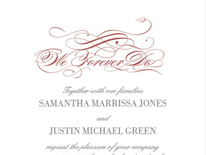 Tmx 1424668046040 Wif148118xx Vf01 1201txt Marsala Dallas wedding invitation