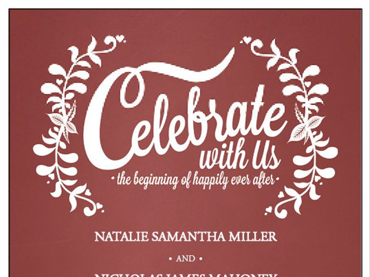 Tmx 1424668395909 Wif148122xx Vf01 1501txt Marsala Dallas wedding invitation