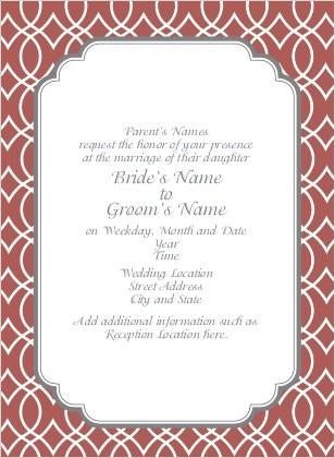 Tmx 1424668668633 Framed For Happiness Marsala 10202127 Sb Dallas wedding invitation