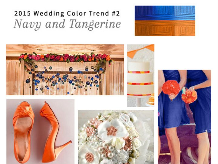 Tmx 1428021395581 2 123print Navy And Tangerine Wedding Dallas wedding invitation