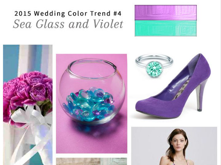 Tmx 1428021419602 4 123print Sea Glass And Violet Wedding Dallas wedding invitation