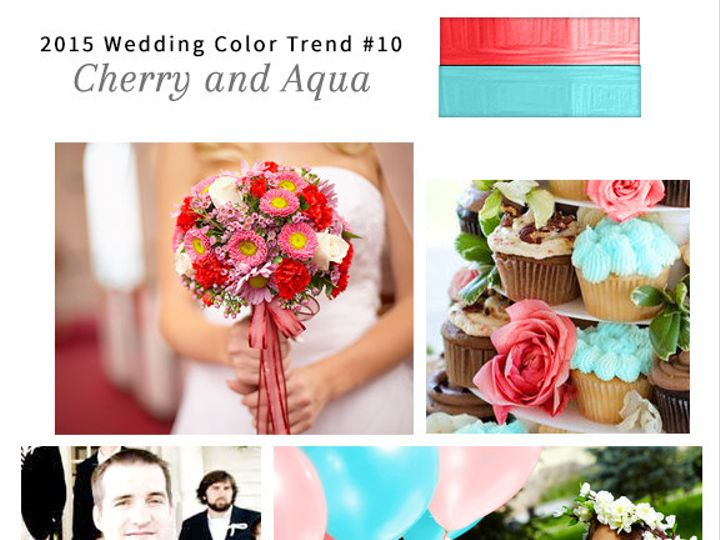 Tmx 1428021492762 10 Cherry And Aqua Wedding Ideas Dallas wedding invitation