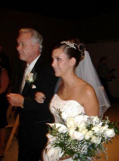 Tanned bride