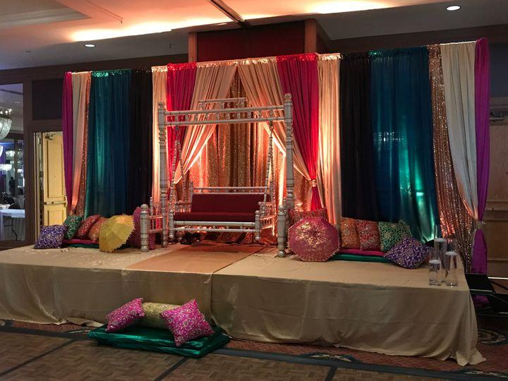 Mehndi Stage Decor -
