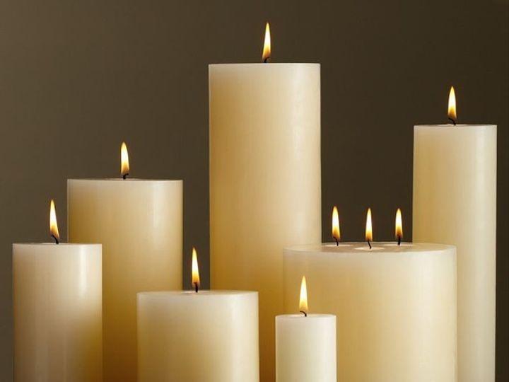 Tmx 1413530662575 Pillar Candles Floral Park wedding eventproduction