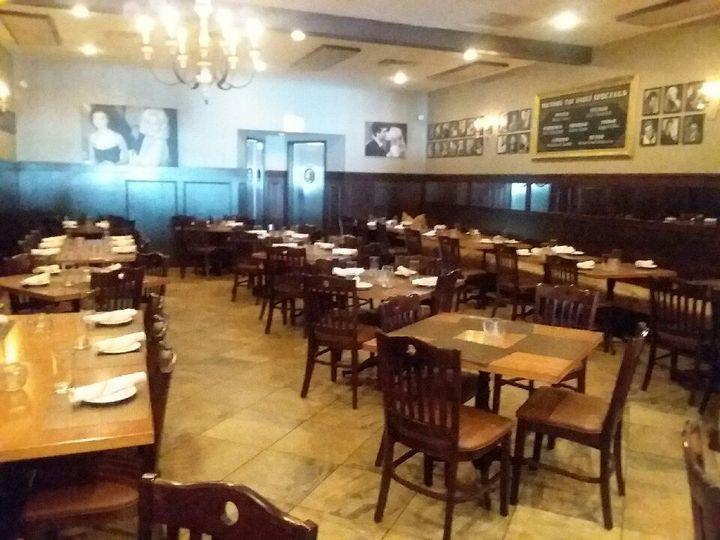 Main dining floor