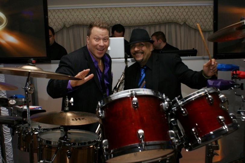 Joe our percussionist toured with Brenda Kay Star and Mark Anthony.