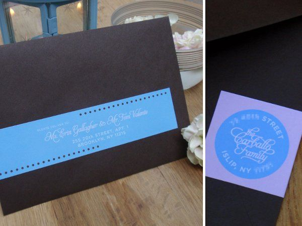Tmx 1327510918998 EllaEnvelopeCompx Brooklyn wedding invitation