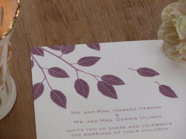 Tmx 1327511509561 RikkiMainLeavesClose Brooklyn wedding invitation
