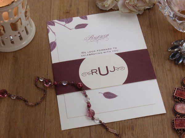 Tmx 1327511578005 RikkiCardsBellyBand Brooklyn wedding invitation