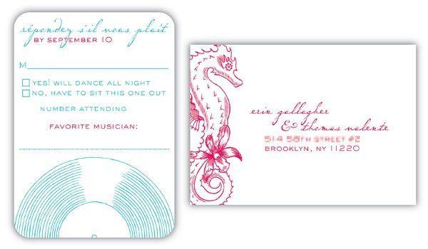 Tmx 1327512158570 WeddingInvitereplyxl Brooklyn wedding invitation