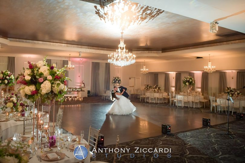 A dance in the Grand Ballroom