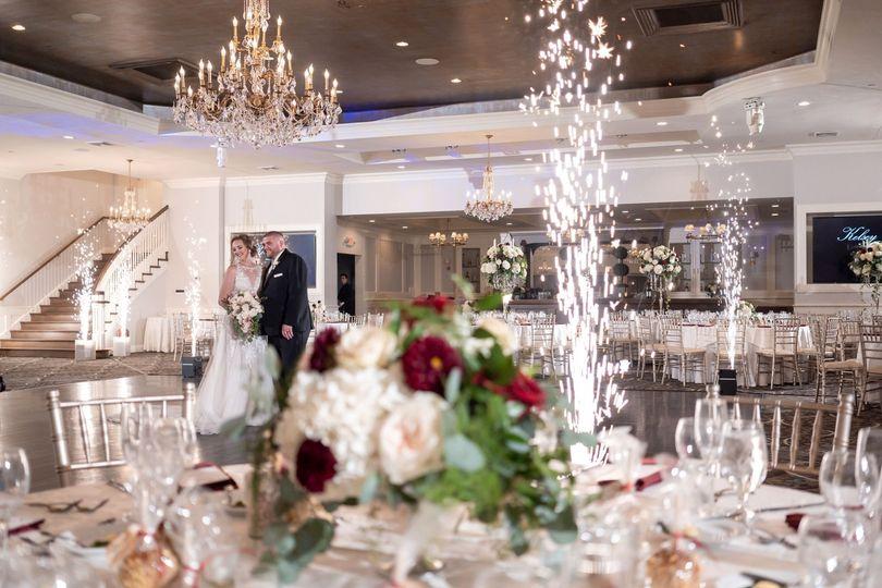 The elegant Grand Ballroom