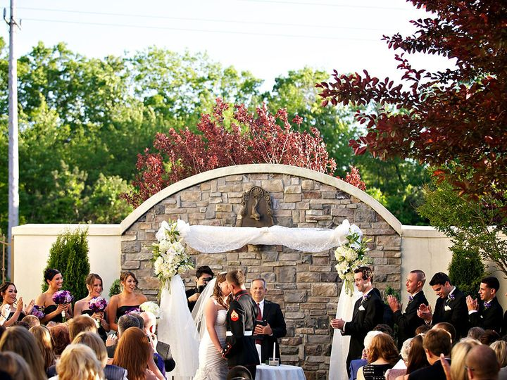 Tmx 1475508060138 Villa Bride Groom Kissing Ceremony Optimized Mountain Lakes, NJ wedding venue