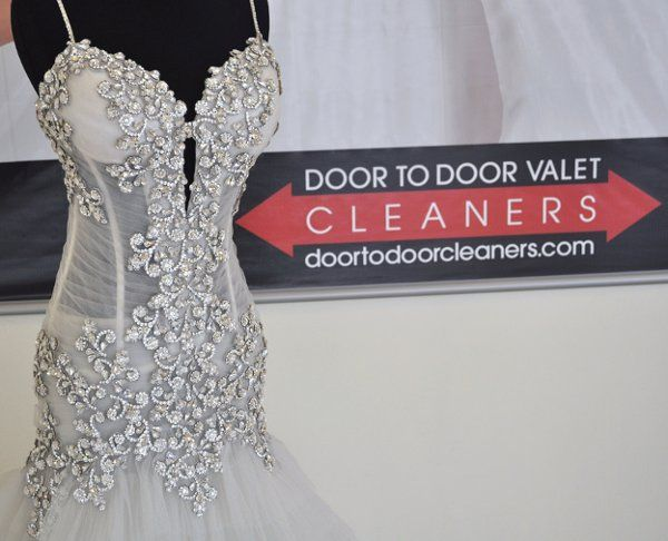 The bride had spent a lot on this gown ($26,000) in addition to spending a week in NYC getting...