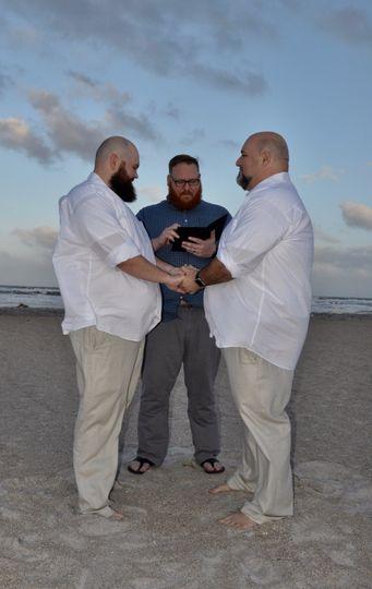 Beach Wedding - Officiant
