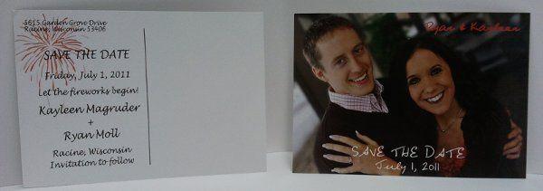 Tmx 1317756574515 Julysavethedate Caledonia wedding invitation