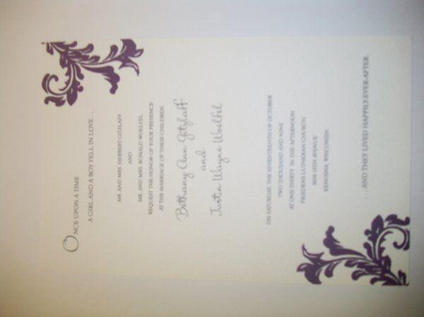 Tmx 1317757223788 1000068 Caledonia wedding invitation