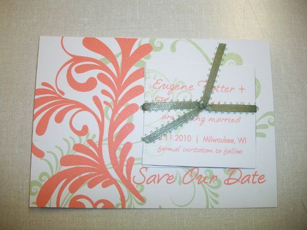Tmx 1317757312911 1000071 Caledonia wedding invitation