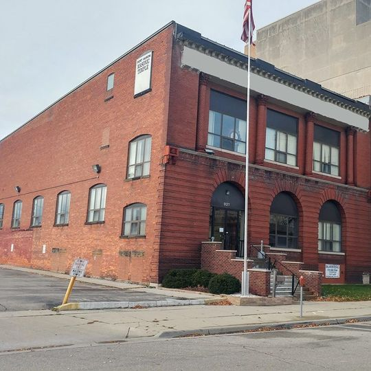 Exterior view of Port Huron Masonic Center Ballroom