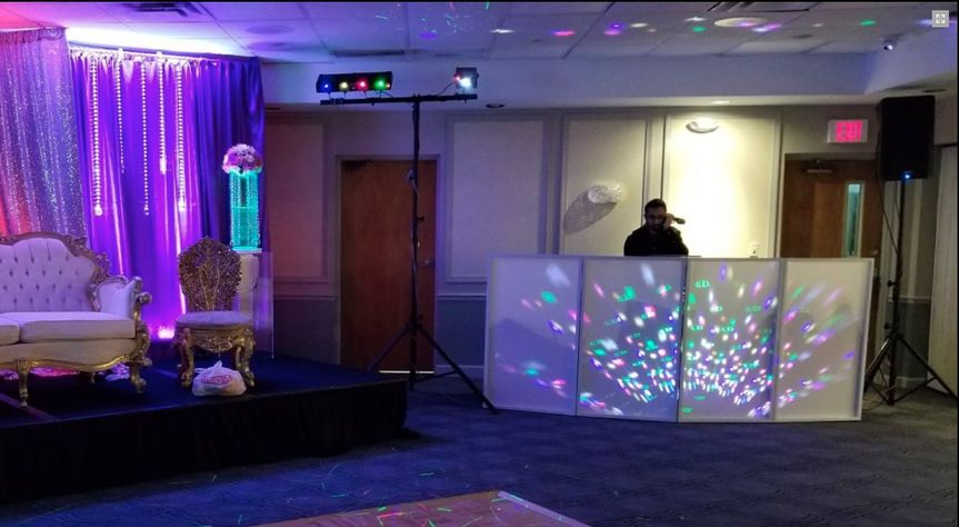 Lights, yes! Setup before even