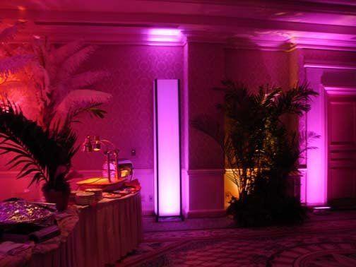 Tmx 1225765591368 LightedColumn1 Pink Fort Lauderdale wedding eventproduction