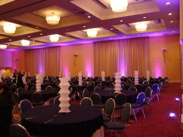 Tmx 1237572812441 LEDlightingmagentaHiltonDowntownMiami Fort Lauderdale wedding eventproduction