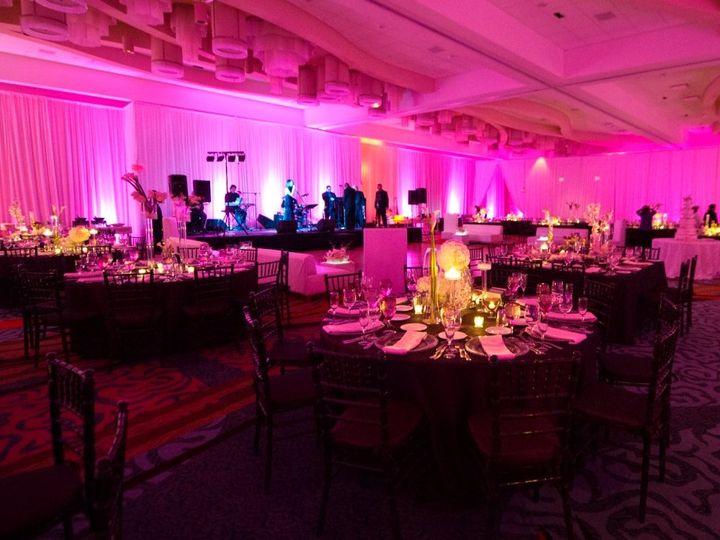 Tmx 1363023317241 MedallionMarriottHarborBeachuplighting Fort Lauderdale wedding eventproduction