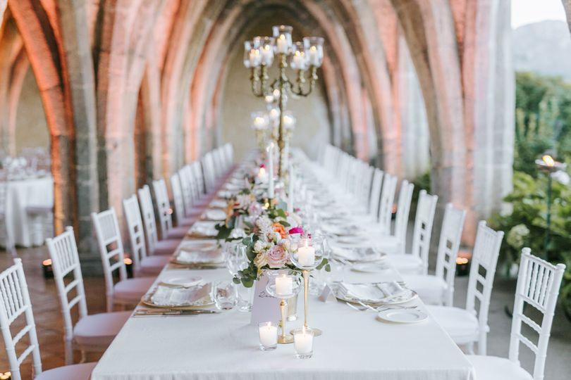 Villa cimbrone wedding chairs