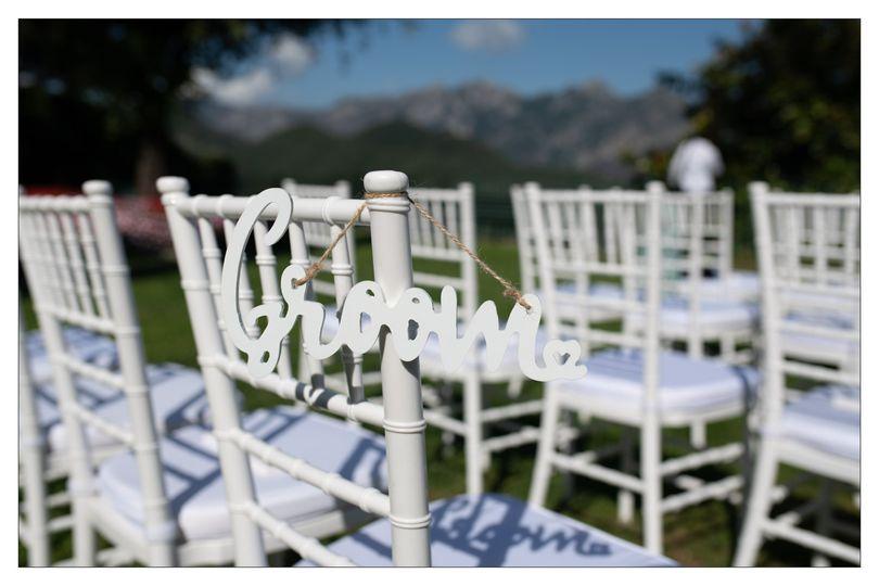 Ravello wedding chairs