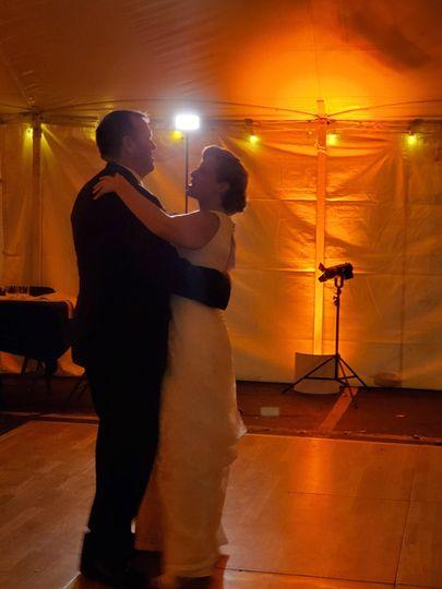 Indoor and outdoor weddings