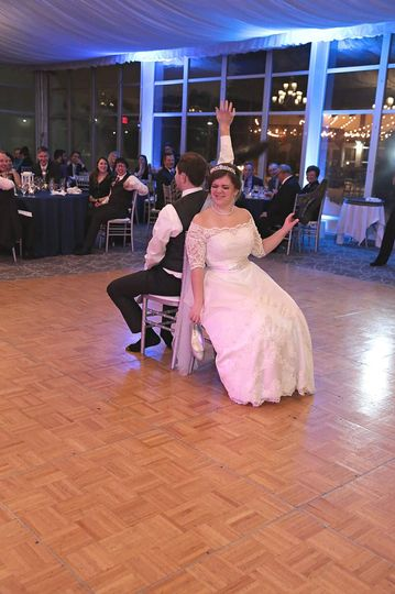 Games can add to a wedding
