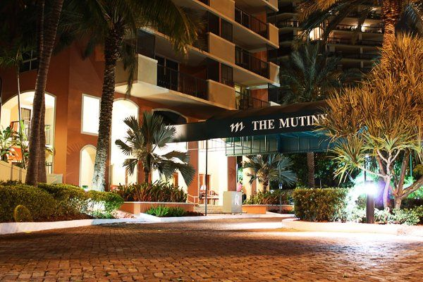 Exterior view of The Mutiny Hotel