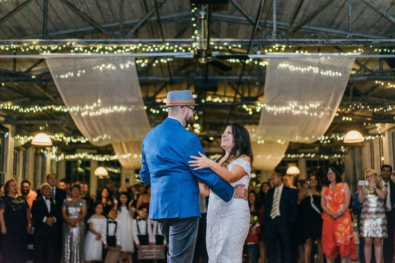 That first dance vibe!