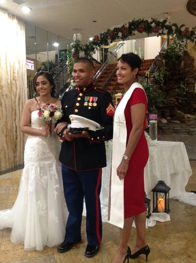 My first military couple!