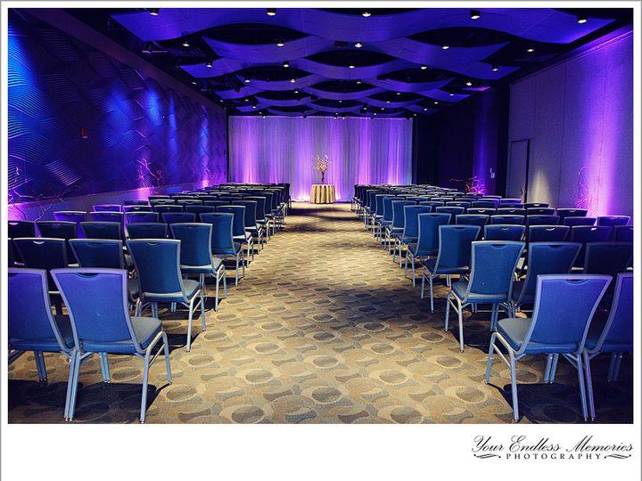 Tmx West Winds Ceremony With Purple Lighting 51 2813 Camden, NJ wedding venue