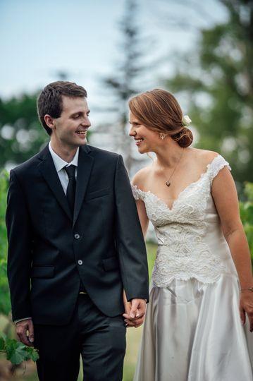 Wedding Couple Walk