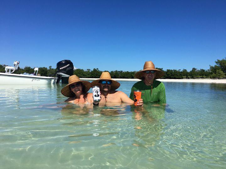 Wedding vacation hats