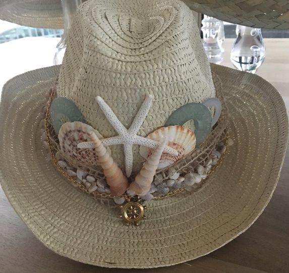 Ocean themed hat