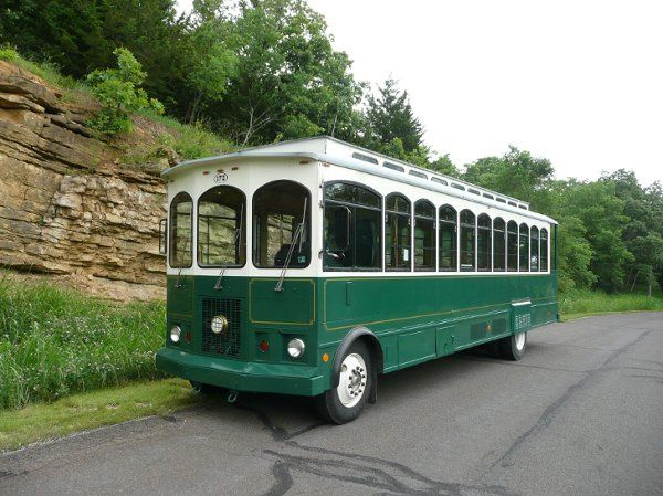 The Boyerton Spartan Trolley is one of a kind!  Gather your entire wedding party and tour the city...